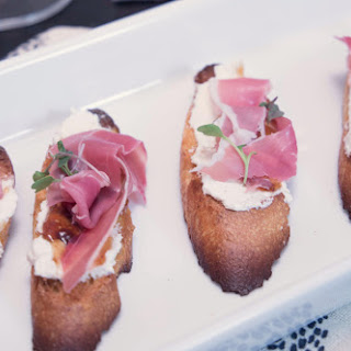 "How Appetizing! Make This ""Fig and Pig"" Crostini."