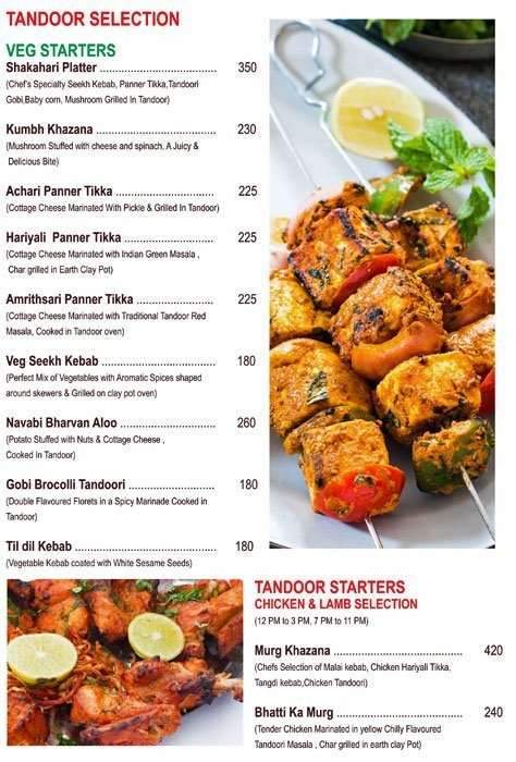 Chef's Bank menu 18