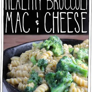 Healthy Broccoli Mac & Cheese.