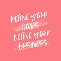 Define Your Goals - Instagram Post item