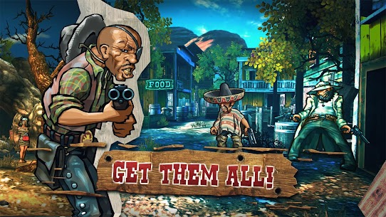 Mad Bullets: Cowboy Shooter 4