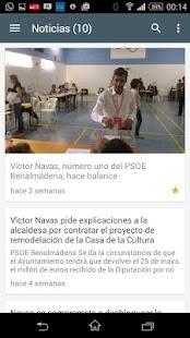 APP PSOE Benalmádena - náhled