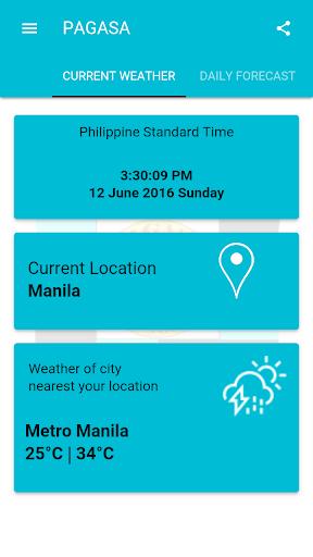 DOST PAGASA Mobile App  screenshots 8