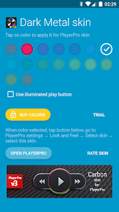 Skin for PlayerPro Dark Metal Screenshot