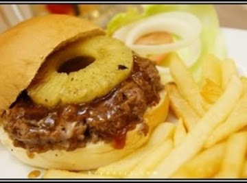 Grammie's Ono Teriyaki Grilled Burgers Recipe