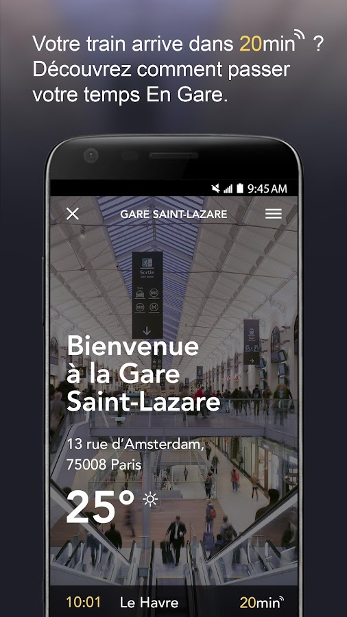 En Gare- screenshot