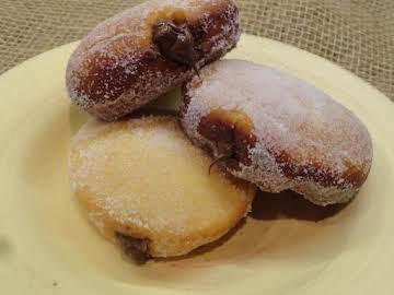 Nutella Donuts (Bomboloni alla Nutella)