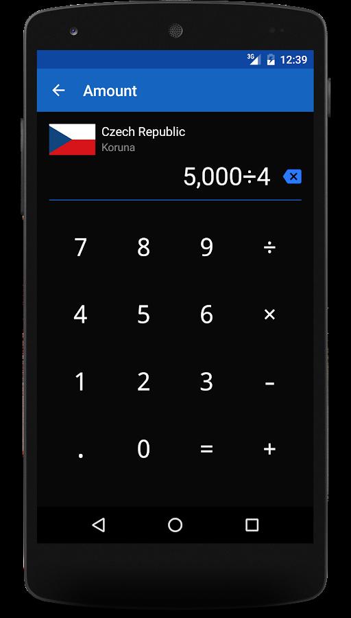 Exchange Rates- screenshot