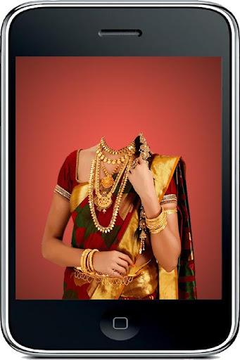 Marriage Saree Photo Suit