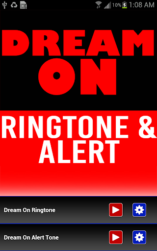 Dream On Ringtone and Alert