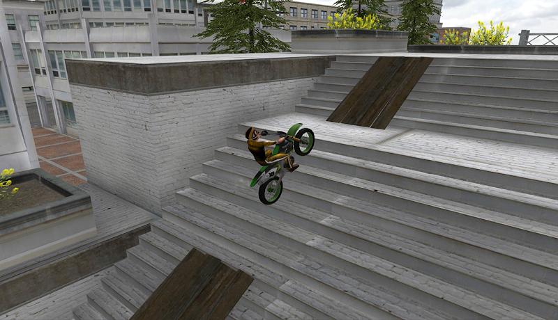 Скриншот Stunt Bike