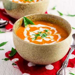 Vegan Creamy Coconut Tomato Bisque
