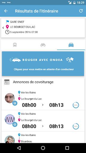 Ondea Transport Aix-les-Bains app (apk) free download for Android/PC/Windows screenshot