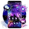 New Year Fireworks Theme icon