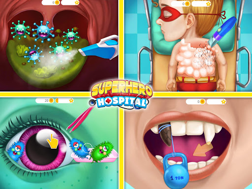 Superhero Hospital Doctor - Crazy Kids Care Clinic 3.0.4 screenshots 24