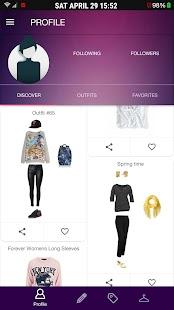 Outfit Swipe - Fashion app - náhled