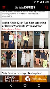 The Indian Express - screenshot thumbnail