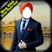 Men Sikh Dress Photo Suit Icon