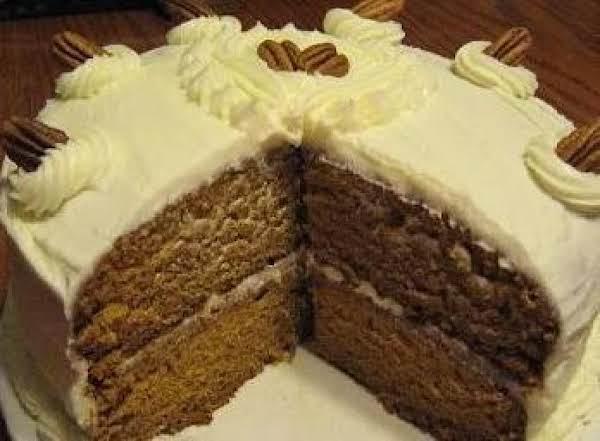 Nana's Pumpkin Cake Recipe
