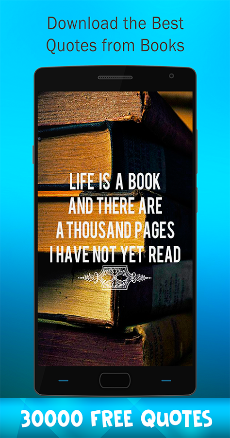 Books With Quotes About Life Awesome Book Quotes  Android Apps On Google Play