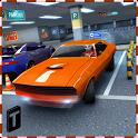 Multi-storey Car Parking 3D icon