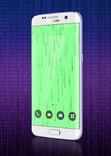 Matrix Binary Code Live Wallpaper - náhled