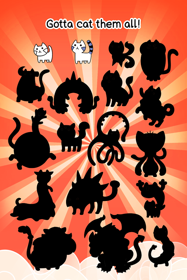 Cat Evolution - Cute Kitty Collecting Game- screenshot