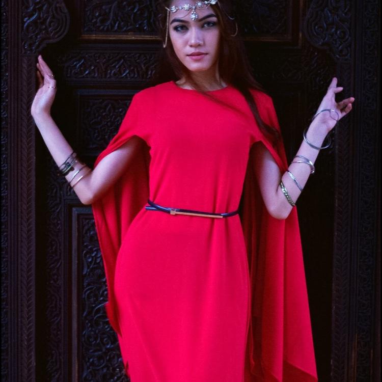 Hera Dress ( Red )