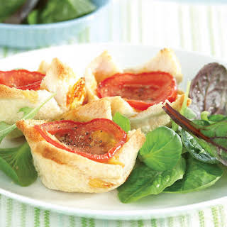 Tomato, Bean and Cheese Cups.