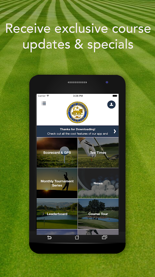 City of Houston Golf Courses- screenshot