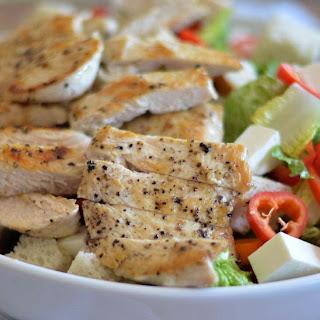 Chicken Bread Salad.