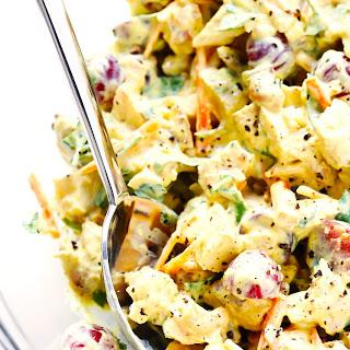 Healthy Curry Chicken Salad.