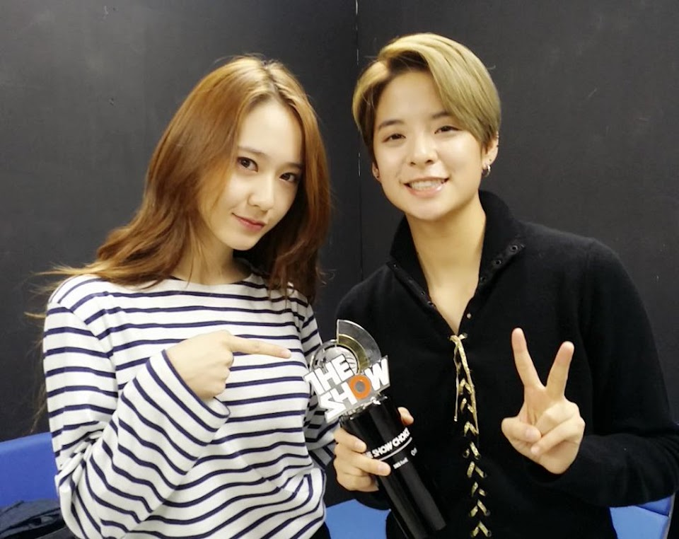 Amber Liu and Krystal