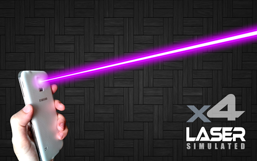 XX Laser Pointer Simulated Screenshot