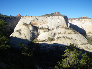 Photo: View from the north ridge of the Church Mesa approach