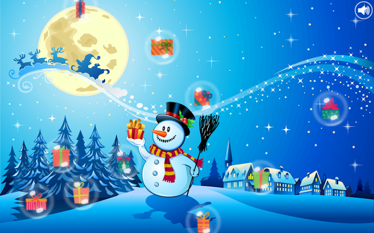 android Christmas Bubbles for Kids Screenshot 1