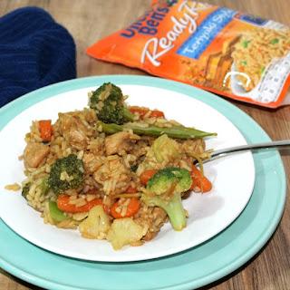 Teriyaki Chicken & Rice Casserole.