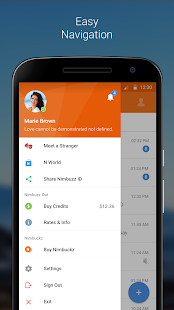 Nimbuzz Messenger / Free Calls- screenshot thumbnail