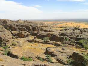 Photo: widok z płaskowyżu