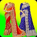 Women Fancy Saree Photo Suit Editor icon