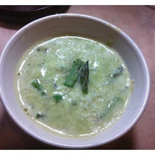 HOT or COLD Healthy Cream of Asparagus Soup