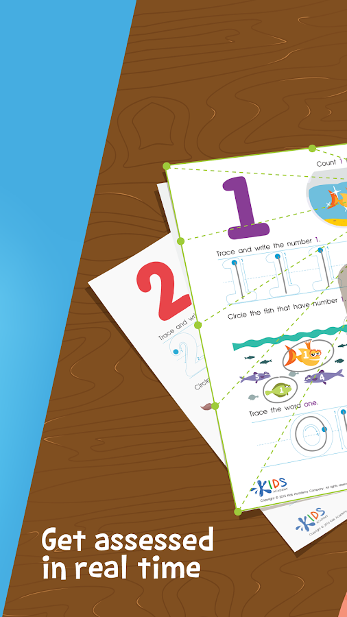 Worksheets: Preschool & Kindergarten Learning- screenshot