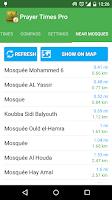 Screenshot of Prayer Times & Qibla Pro