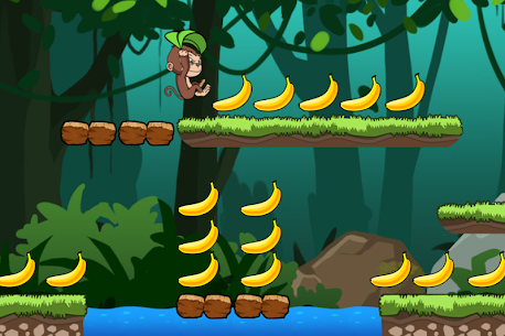 Banana world – Bananas island – hungry monkey 1