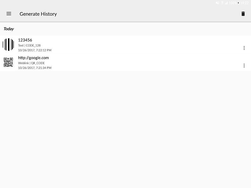 QR BarCode Screenshot 9