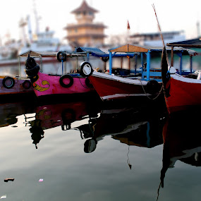by Harry Suryo - Transportation Boats