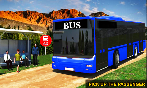 Drive Hill Coach Bus Simulator : Bus Game 2019 1.0 screenshots 1