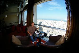 Photo: Vue depuis le bar du 28ème étage de l'Hotel Kenzi Tower  Twin Center - Boulevard Zerktouni, 20100 Casablanca
