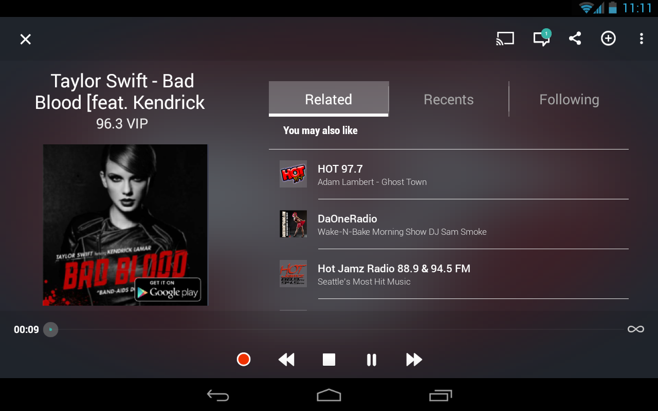 TuneIn Radio Pro - Live Radio- screenshot
