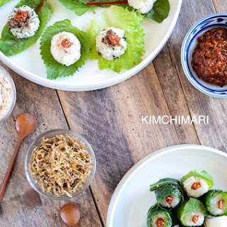 Easy Ssam and Ssambap (Korean Lettuce Wrap)